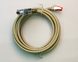 Foto: Kabel PC- Dichte-Index Waage